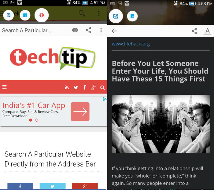 Flynx: The Best Android Browser for Reading Articles