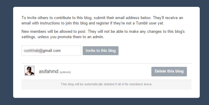 How to Move A Tumblr Blog from One Account to Another