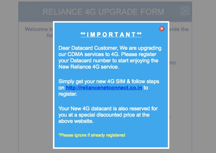 How Reliance Communications Scammed it's Wi-Pod Internet Users