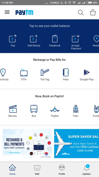 How to Buy Google Play Recharge Codes from PayTM and Freecharge