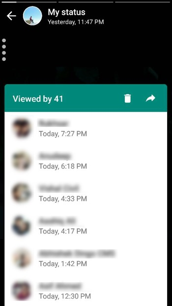 Whatsapp Status Viewed Techtippr