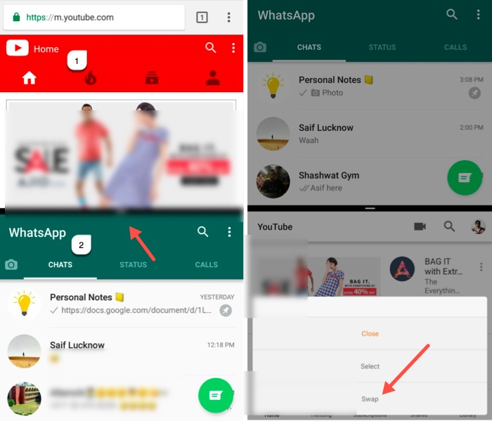 How to Enable Split Screen Feature on Mi Max, Redmi Note 4