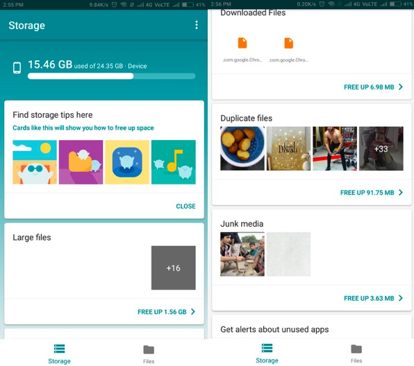 How to free up space in Android without deleting important apps