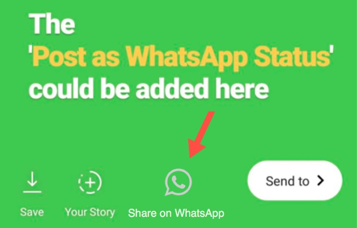 How To Post Instagram Stories As Whatsapp Status Automatically