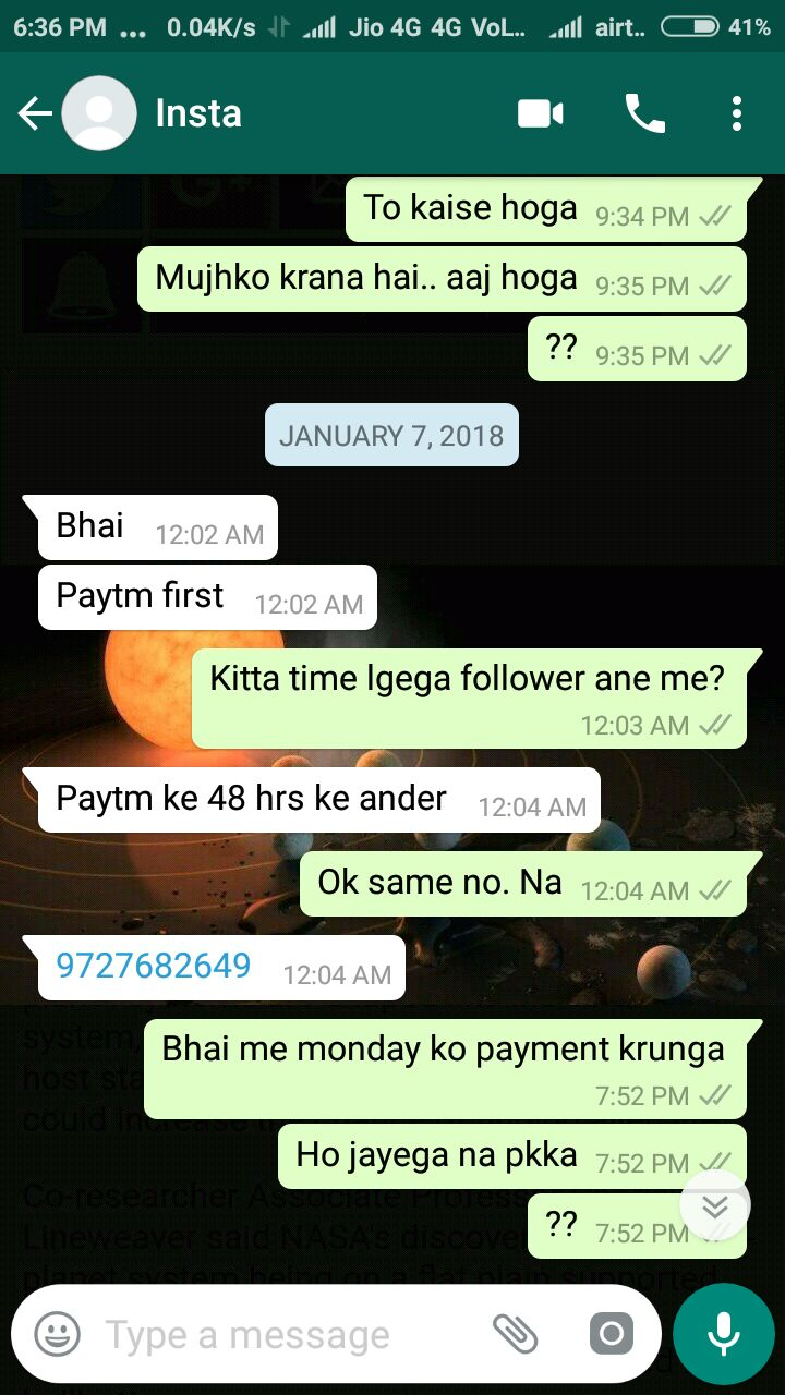 Stay Away from the PayTM Scams on Instagram, WhatsApp and other