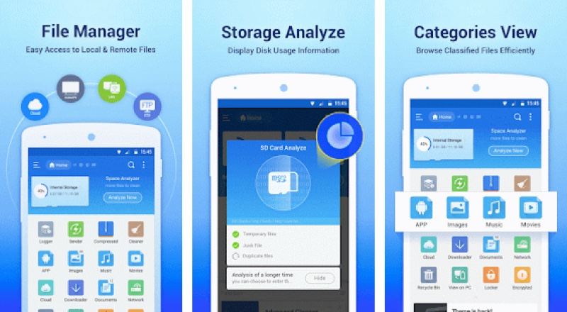 How to open zip file in Android mobile