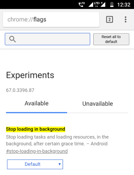 Chrome for Android Tabs Will Get Suspended in the Background