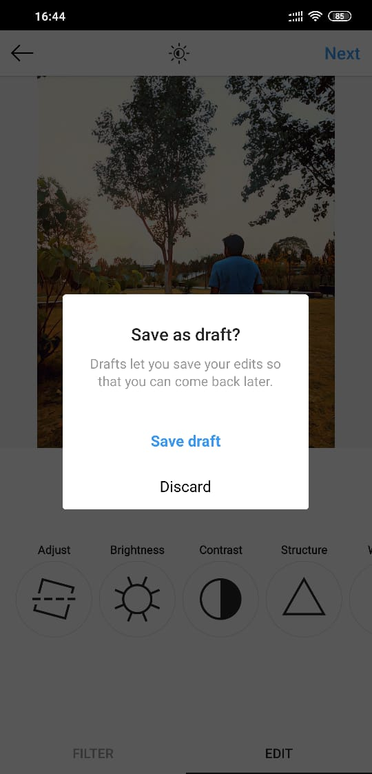 can you save instagram profile pictures