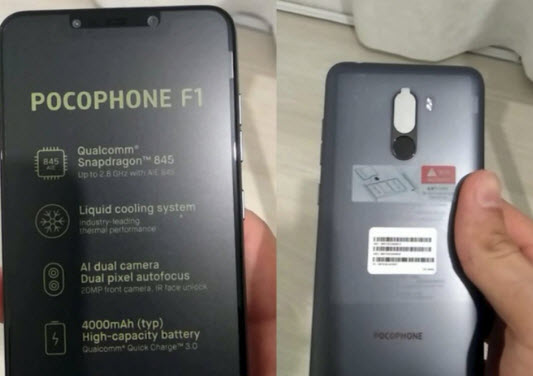 XIoami Pocophone F1 Price, Specs & Availability in India