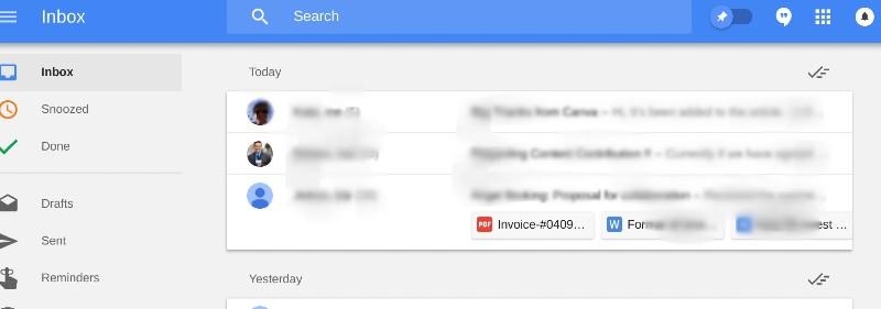 Preview Attachments in Inbox by Google