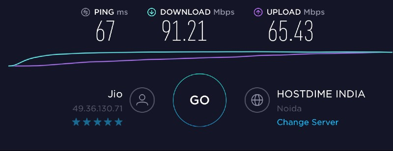 Jio Gigafiber Speedtest Laptop Wifi Techtippr