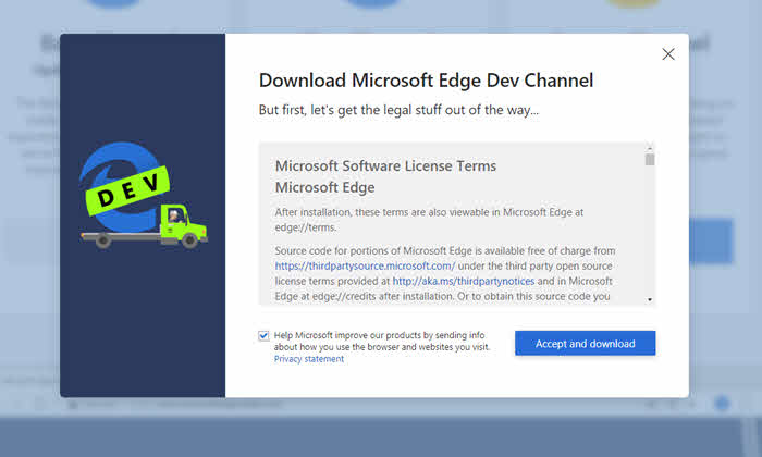 Add Extensions to Edge Browser from Chrome Web Store - Techtippr