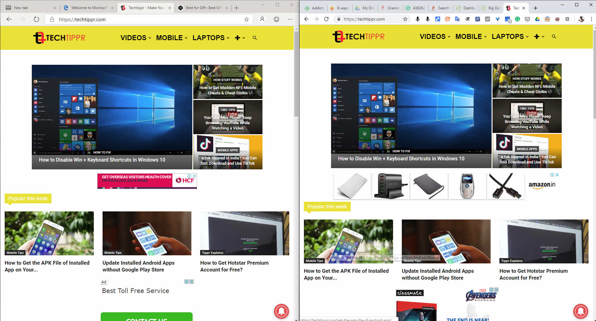 Reviewing the Chromium Based Microsoft Edge Browser : A