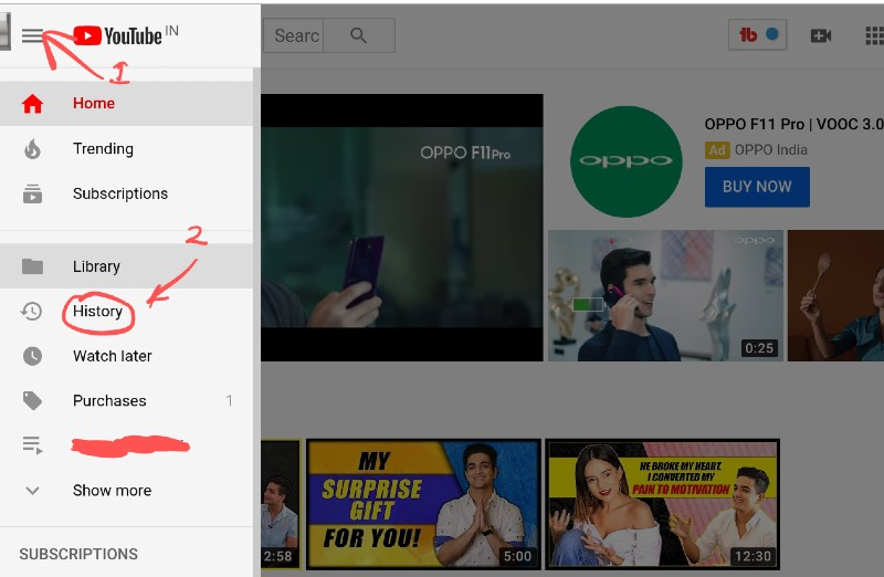 How to Delete YouTube History on Android and PC