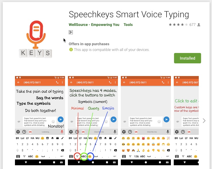 Speech Keys is a Better Alternative to Gboard for Voice Typing