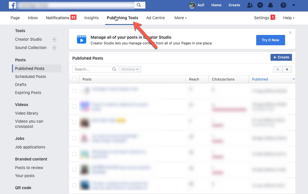 Delete Facebook Posts for Pages 01