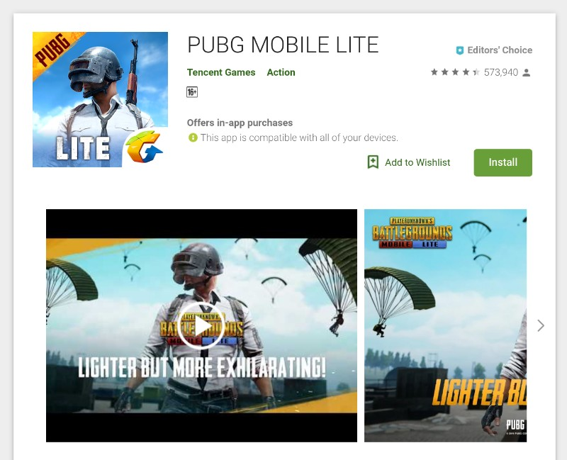 Download and Play PUBG Mobile Lite in India