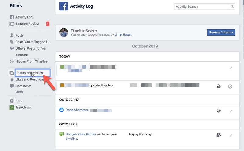 Remove Tags on Facebook 01