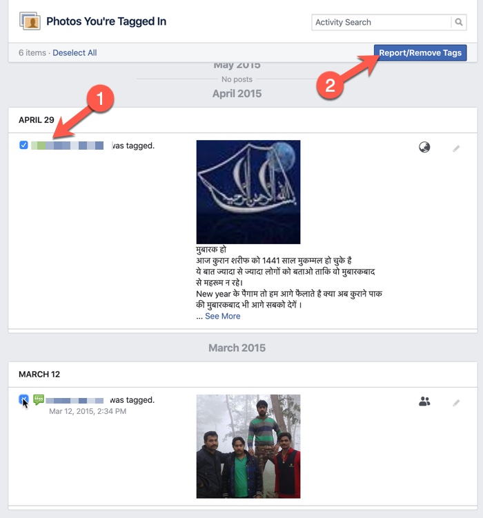 Remove Tags on Facebook 03