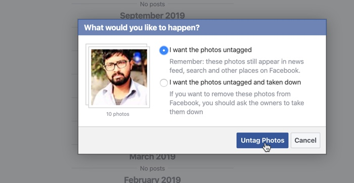 Remove Tags on Facebook 04