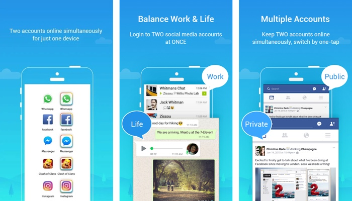 Download Parallel Space APK for Android – The App That Let's You Use Two WhatsApp, Instagram in one Mobile