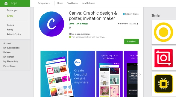 canva app for android