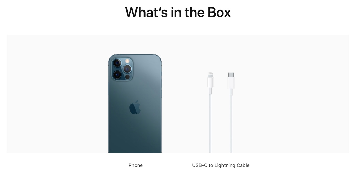 iPhone 12 with No Charging Adapter